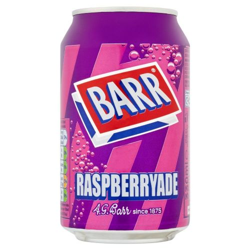 Barr Raspberry 330ml Can (UK)
